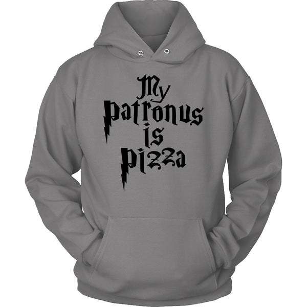 Limited Edition Harry Potter T-shirt Hoodie -  My Patronus Is A Pizza - Hoodie / Grey / S - My Revolutional Shop - 5