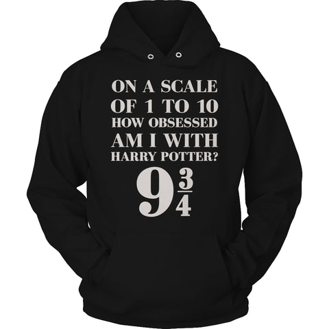 Limited Edition Harry Potter T-shirt Hoodie Tank Top - Harry Potter Scale - Hoodie / Black / S - My Revolutional Shop - 1