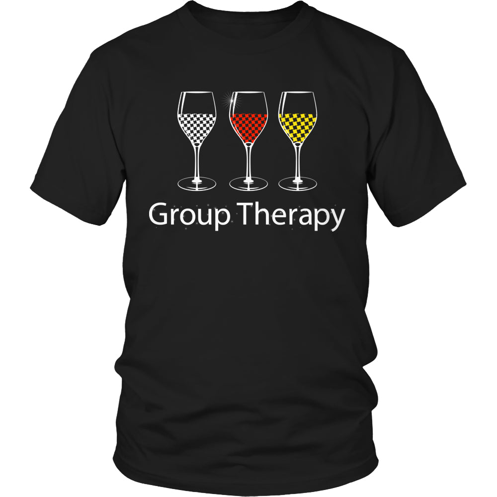 Limited Edition T-shirt Hoodie - Group Therapy - Unisex Shirt / Black / S - My Revolutional Shop - 1