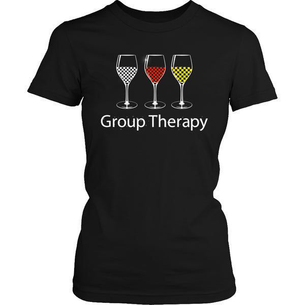 Limited Edition T-shirt Hoodie - Group Therapy - Womens Shirt / Black / S - My Revolutional Shop - 2