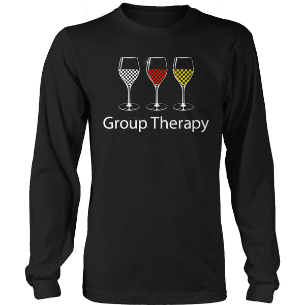 Limited Edition T-shirt Hoodie - Group Therapy - Long Sleeve / Black / S - My Revolutional Shop - 3