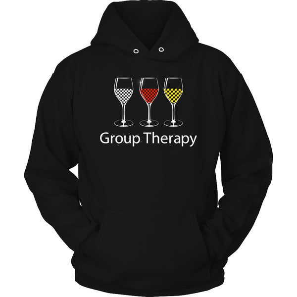 Limited Edition T-shirt Hoodie - Group Therapy - Hoodie / Black / S - My Revolutional Shop - 4