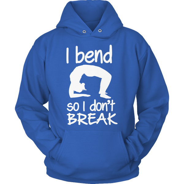 Limited Edition T-shirt Hoodie - I Bend So I Don't Break (Yoga Shirt) -  - My Revolutional Shop - 16