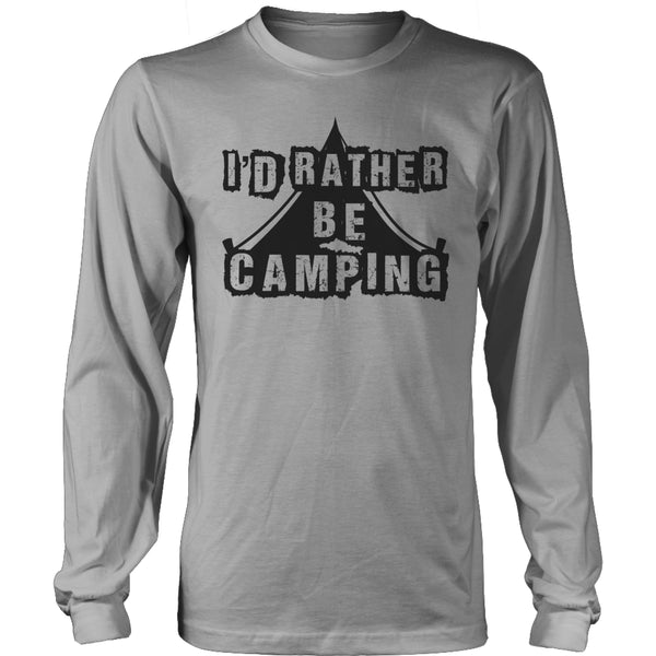 Limited Edition T-shirt Hoodie - I'd Rather Be Camping -  - My Revolutional Shop - 16