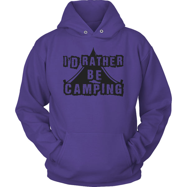 Limited Edition T-shirt Hoodie - I'd Rather Be Camping -  - My Revolutional Shop - 17