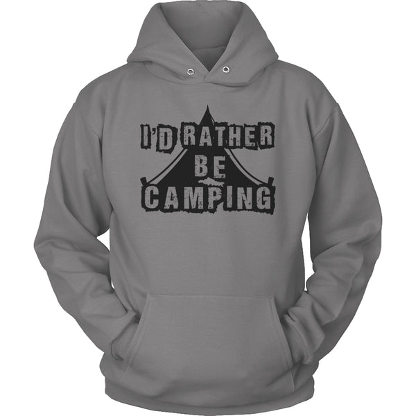Limited Edition T-shirt Hoodie - I'd Rather Be Camping -  - My Revolutional Shop - 18