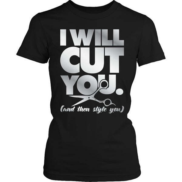 Limited Edition T-shirt Hoodie - I Will Cut You - Womens Shirt / Black / S - My Revolutional Shop - 2