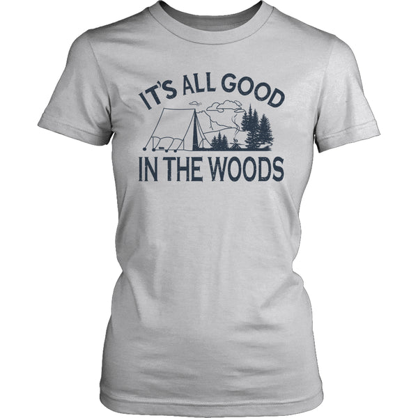 Limited Edition T-shirt Hoodie - Its All Good In The Woods - Womens Shirt / Grey / S - My Revolutional Shop - 2