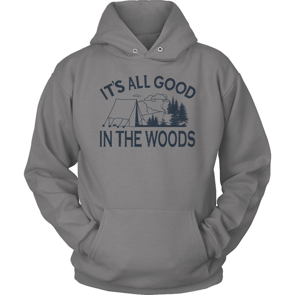 Limited Edition T-shirt Hoodie - Its All Good In The Woods - Hoodie / Grey / S - My Revolutional Shop - 5