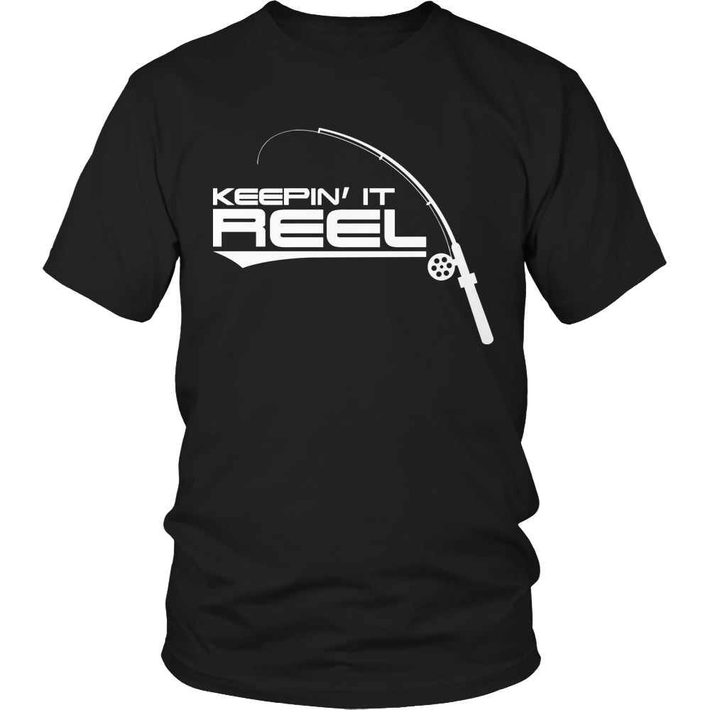 Limited Edition T-shirt Hoodie - Keepin It Reel - Unisex Shirt / Black / S - My Revolutional Shop - 1