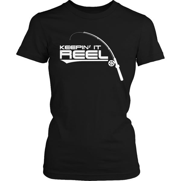 Limited Edition T-shirt Hoodie - Keepin It Reel - Womens Shirt / Black / S - My Revolutional Shop - 2