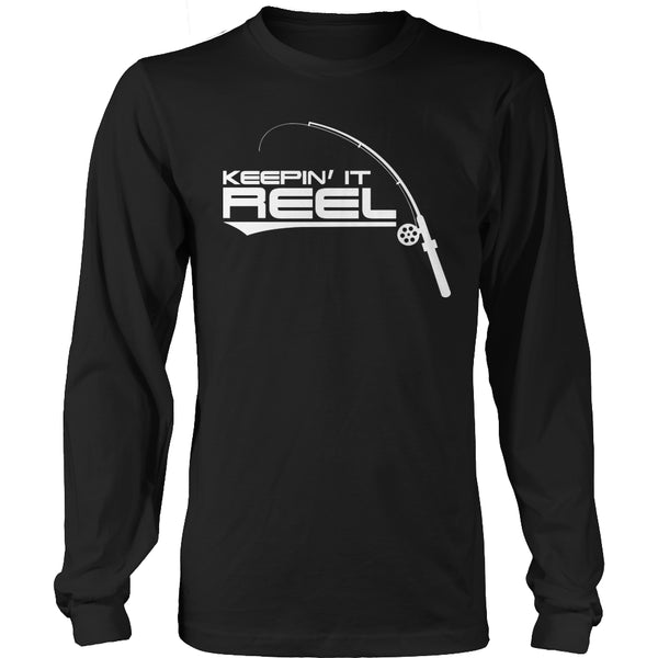 Limited Edition T-shirt Hoodie - Keepin It Reel - Long Sleeve / Black / S - My Revolutional Shop - 3