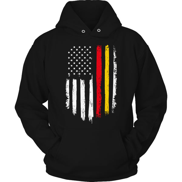 Limited Edition T-shirt Hoodie - Marine Flag - Hoodie / Black / S - My Revolutional Shop - 4