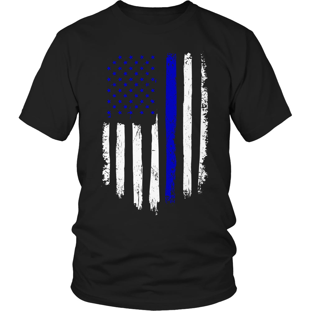 Limited Edition T-shirt Hoodie - Navy Flag - Unisex Shirt / Black / S - My Revolutional Shop - 1