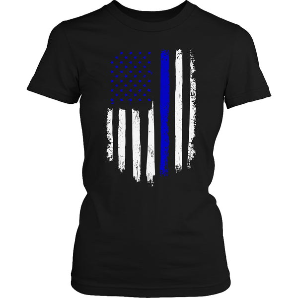 Limited Edition T-shirt Hoodie - Navy Flag - Womens Shirt / Black / S - My Revolutional Shop - 2