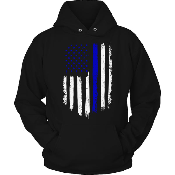 Limited Edition T-shirt Hoodie - Navy Flag - Hoodie / Black / S - My Revolutional Shop - 4