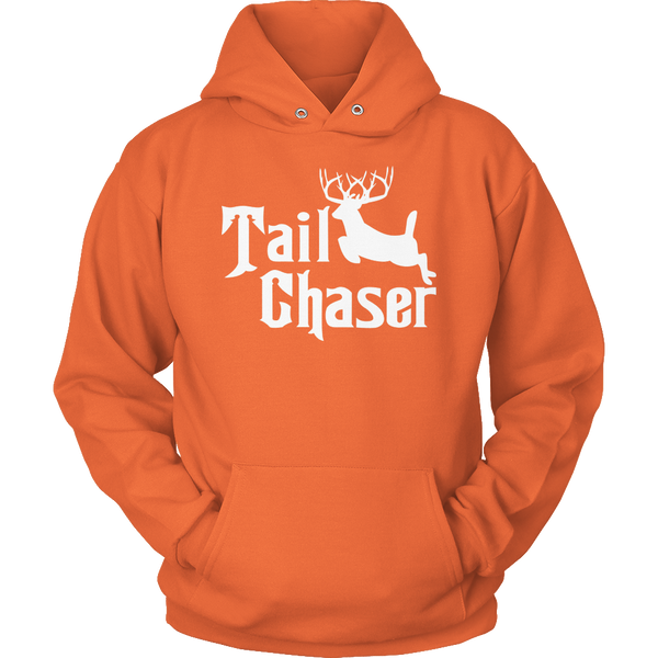 Limited Edition T-shirt Hoodie - Tail Chaser - Hoodie / Orange / S - My Revolutional Shop - 2