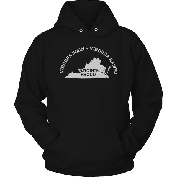 Limited Edition T-shirt Hoodie - 'Your State' Born 'Your State' Raised 'Your State' Proud - Hoodie / Black / S - My Revolutional Shop - 4