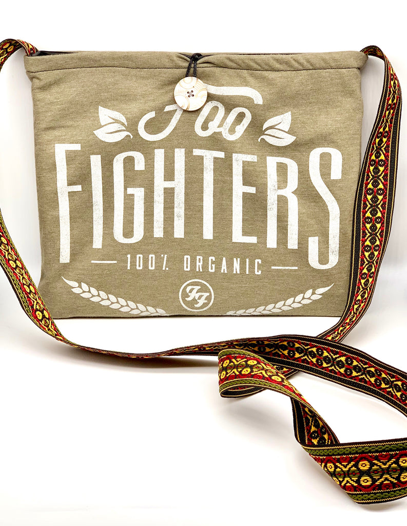 #866 - Organic Foo Fighters and Black Pleather Switch Purse