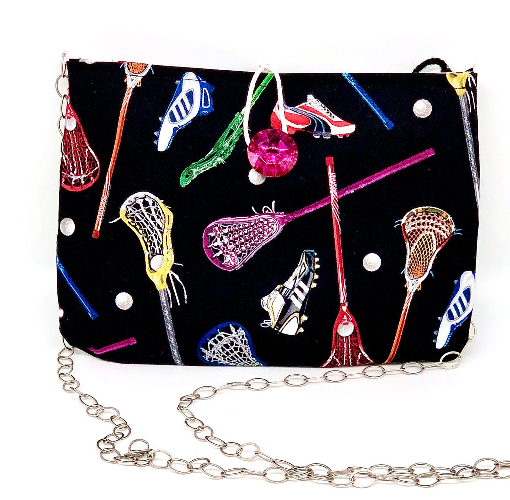#880 - Soccer/Lacrosse Switch Purse (square)