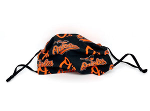 #008 - Orioles Mask with Adjustable Straps