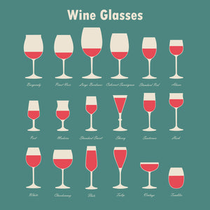 Types of Wine Glasses for Beginners