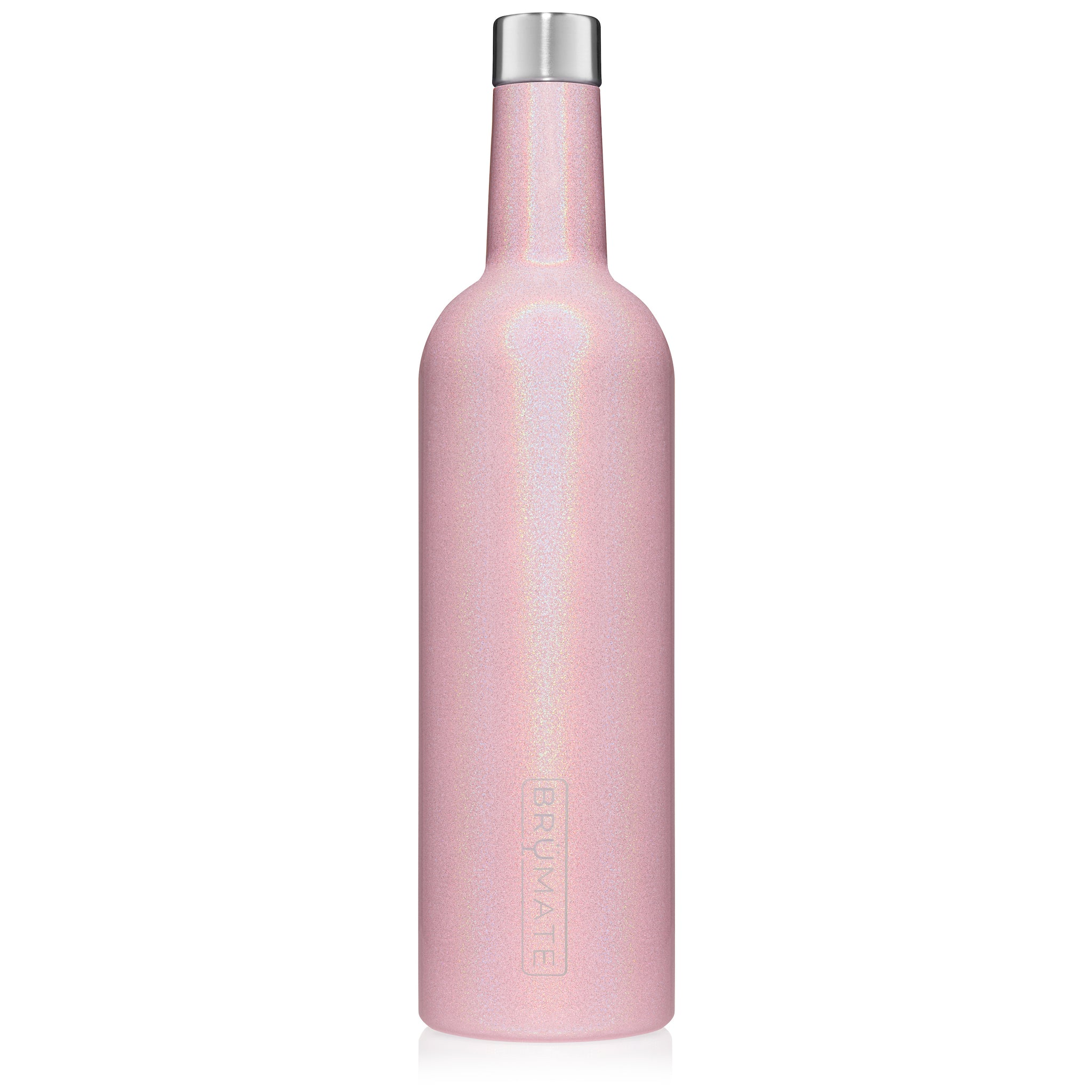 WINESULATOR™ 25oz Wine Canteen | Glitter Blush