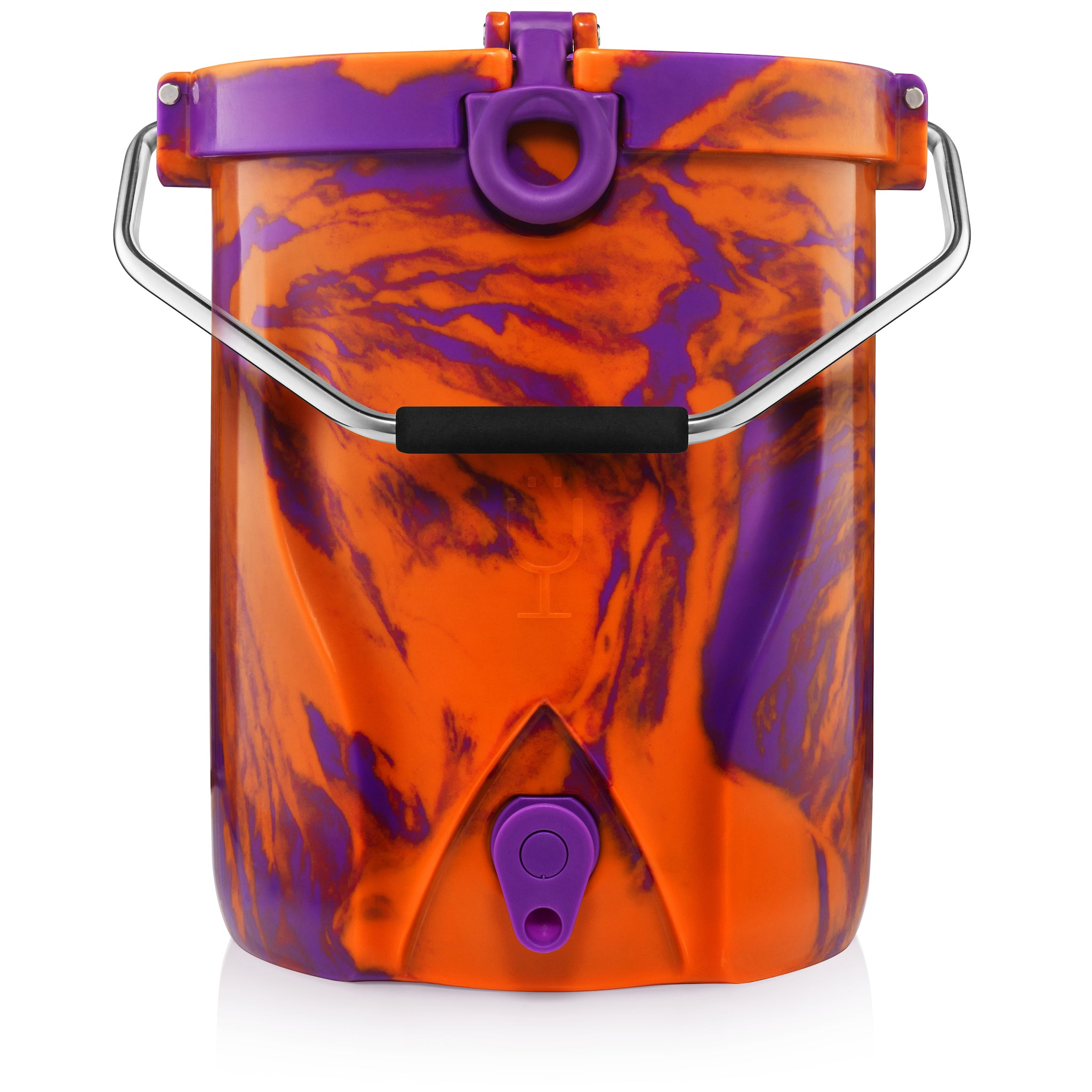 BACKTAP™ | Orange & Purple Swirl