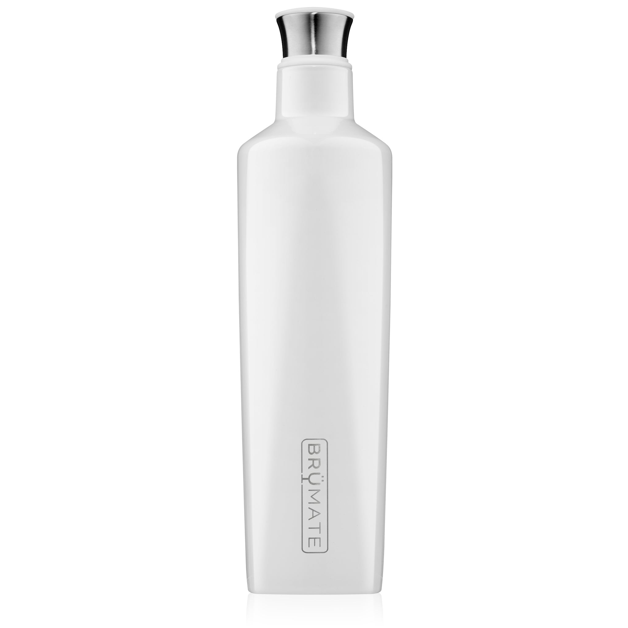 BrüMate Fifth 25oz Liquor Canteen | Ice White
