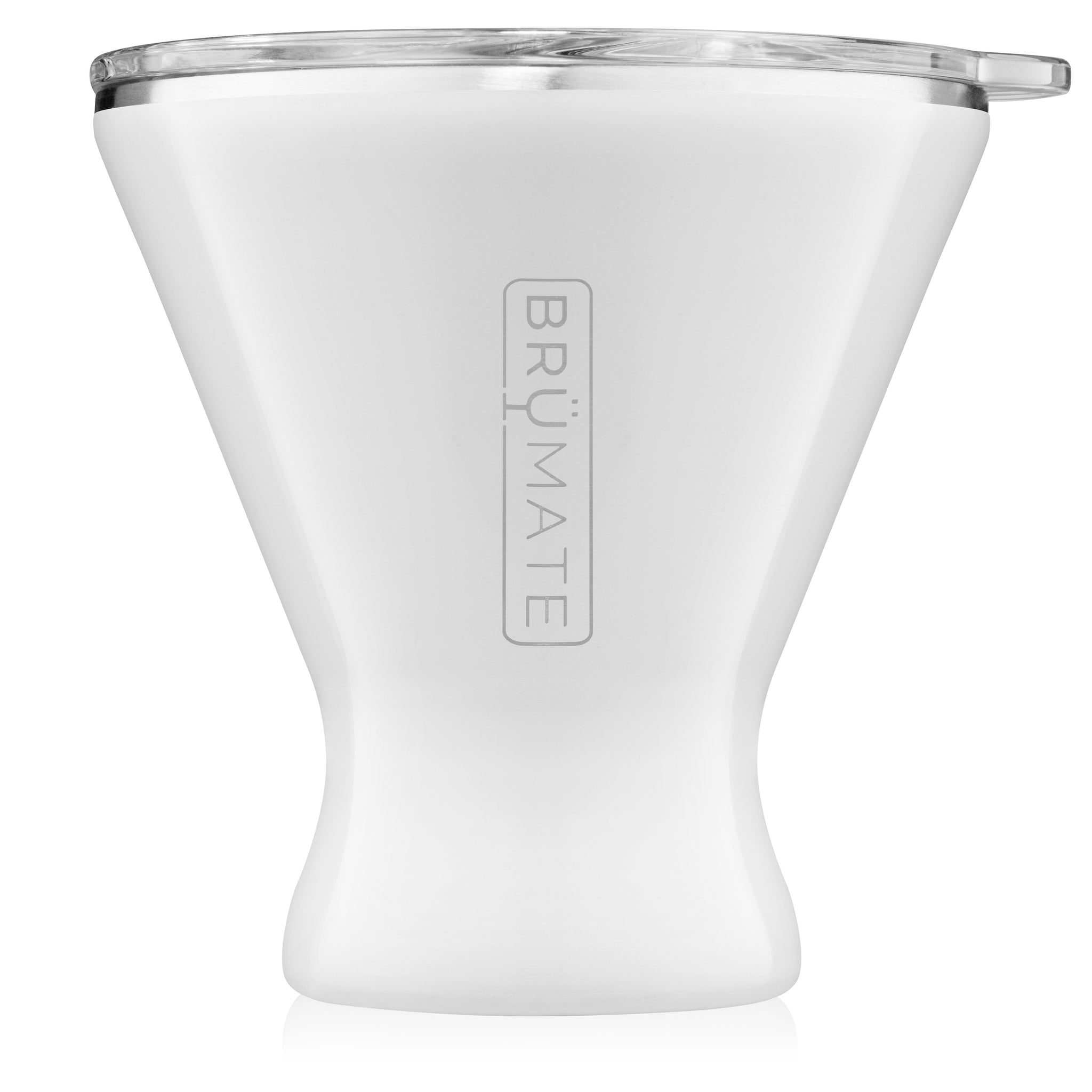 MargTini 10oz Martini / Margarita Tumbler | Ice White