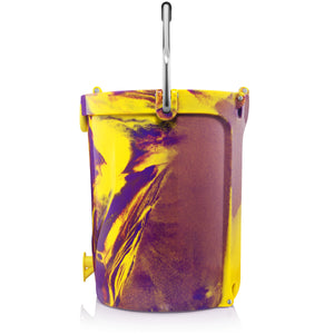 BACKTAP™ | Yellow & Purple Swirl