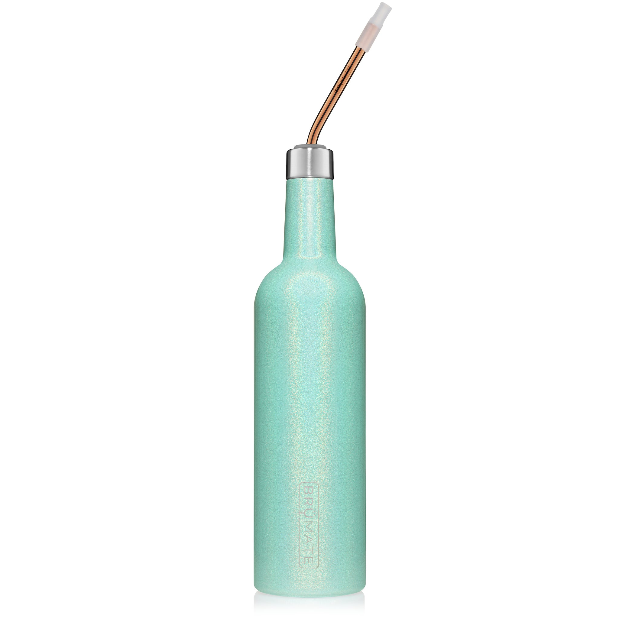 (NEW) INFINITY BOTTLE | Glitter Aqua