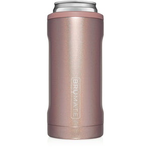 (PRE-ORDER, SHIPS ~ 07/25) Hopsulator Slim | Glitter Rose Gold (12oz slim cans)