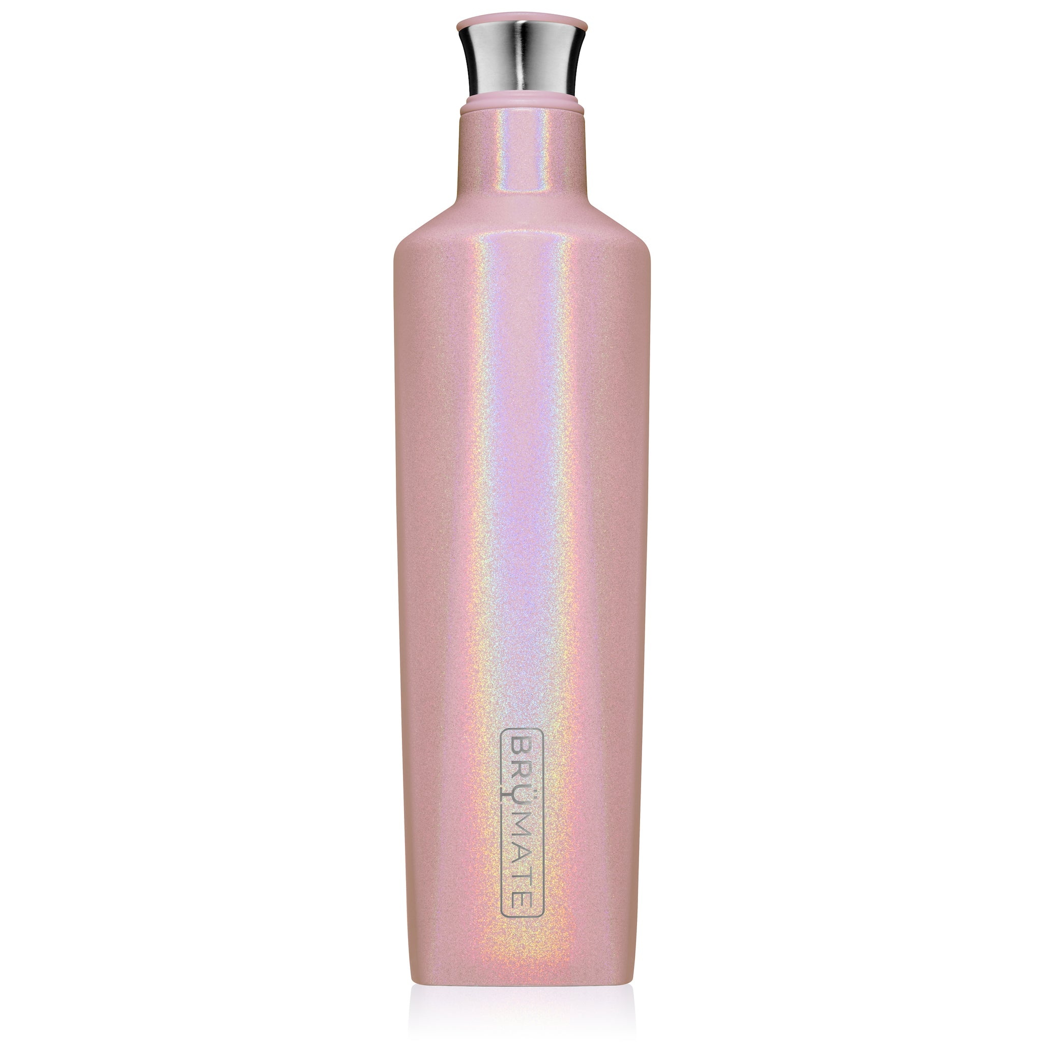 BrüMate Fifth 25oz Liquor Canteen | Glitter Blush