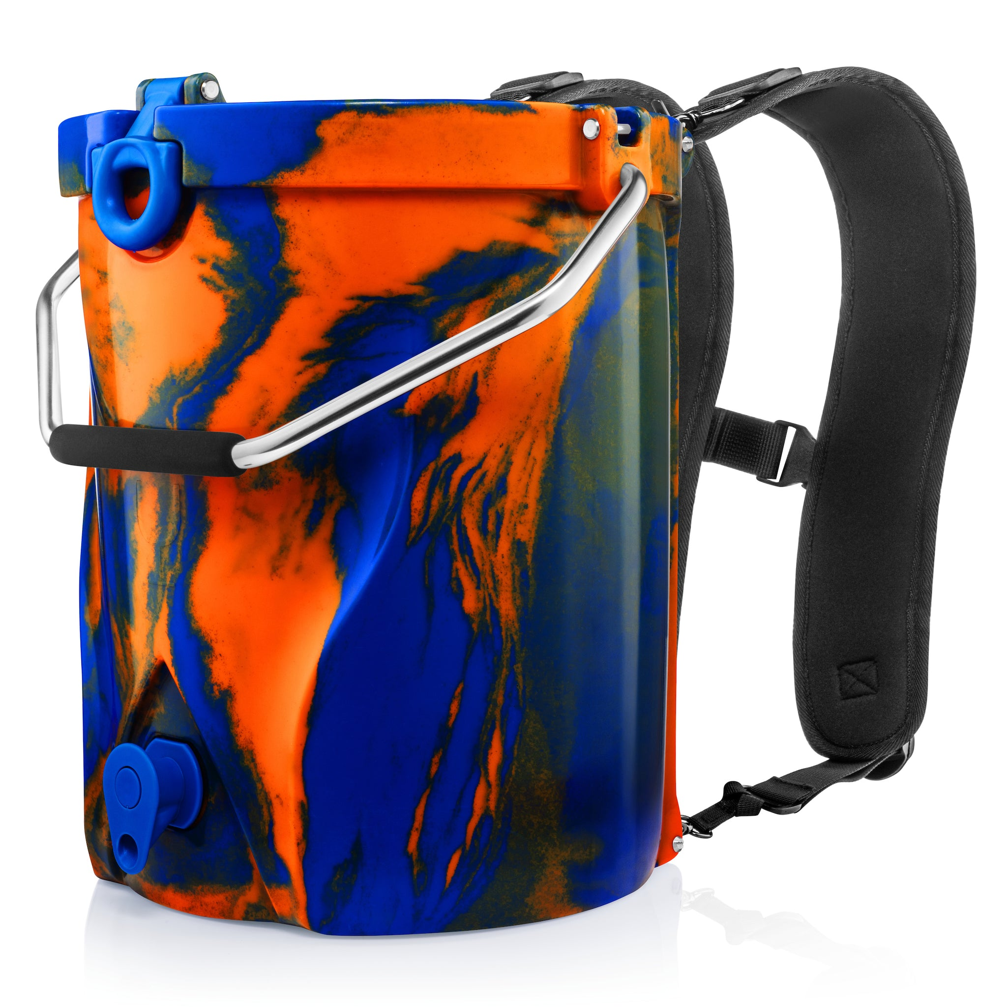 BACKTAP™ | Blue & Orange Swirl