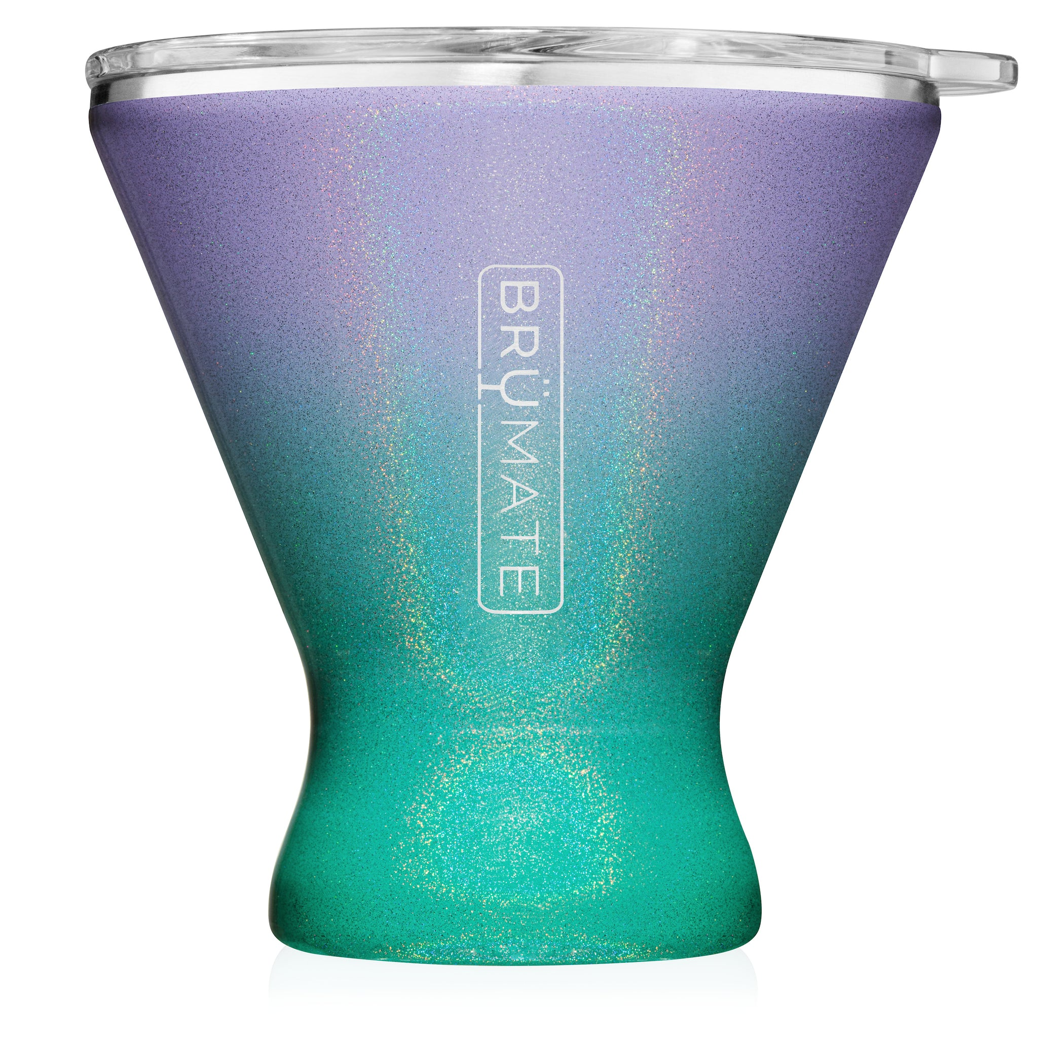 MargTini 10oz Martini / Margarita Tumbler | Glitter Mermaid