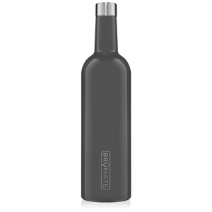 WINESULATOR™ 25oz Wine Canteen | Charcoal