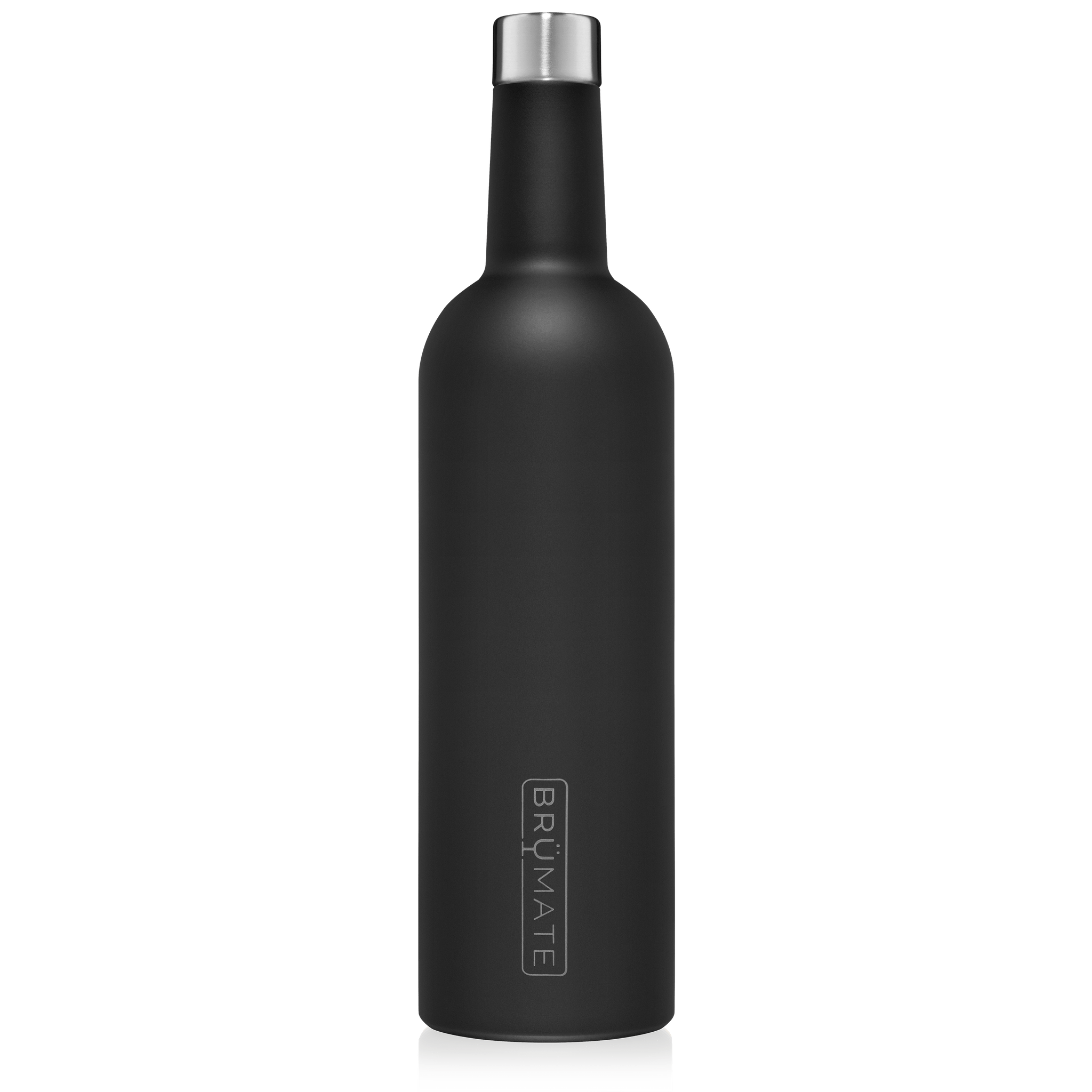 WINESULATOR™ 25oz Wine Canteen | Matte Black V2.0