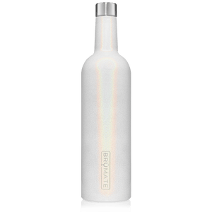 WINESULATOR™ 25oz Wine Canteen | Glitter White