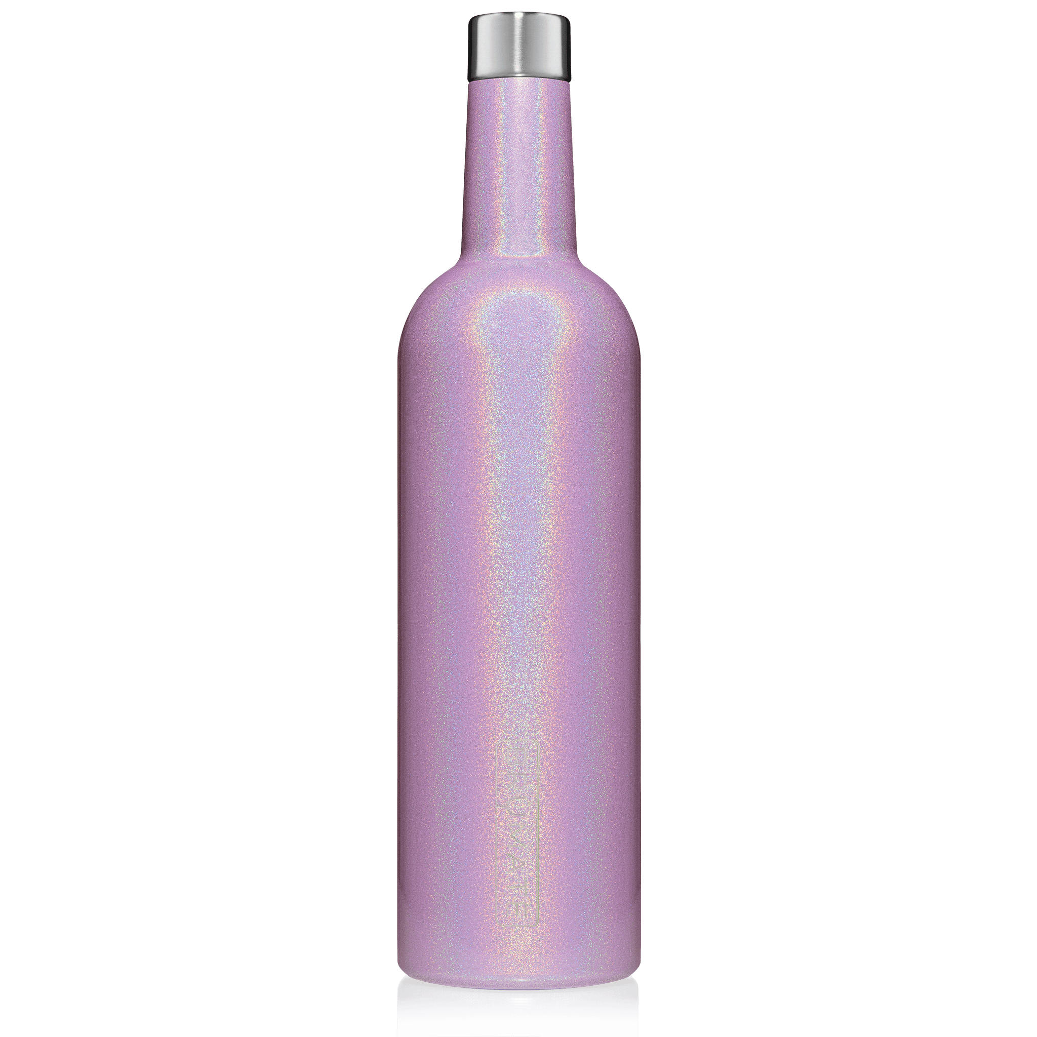 WINESULATOR™ 25oz Wine Canteen | Glitter Violet