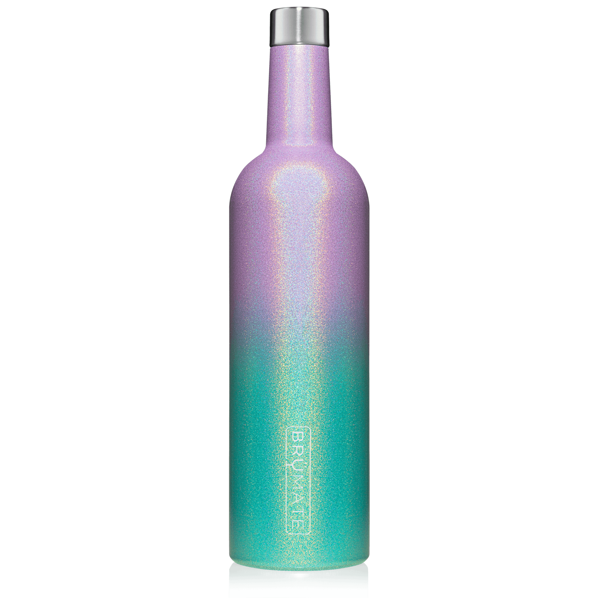 WINESULATOR™ 25oz Wine Canteen | Glitter Mermaid V2.0