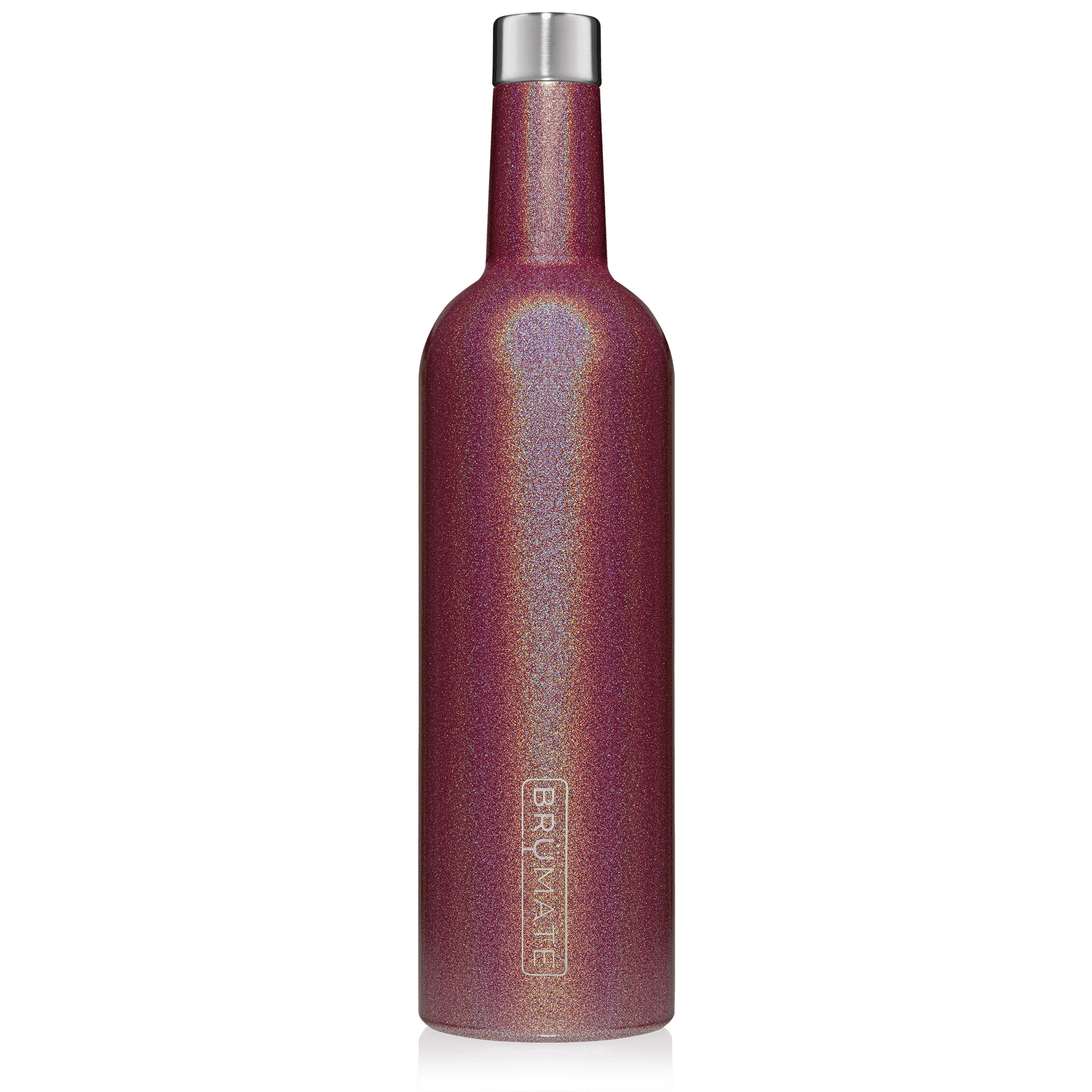 WINESULATOR™ 25oz Wine Canteen | Glitter Merlot