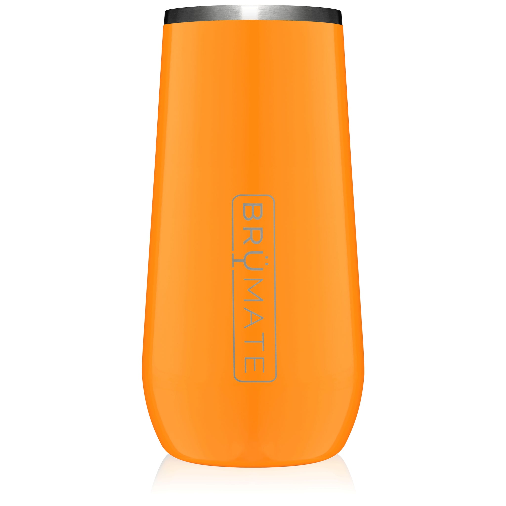 Champagne Flute 12oz | Hunter Orange