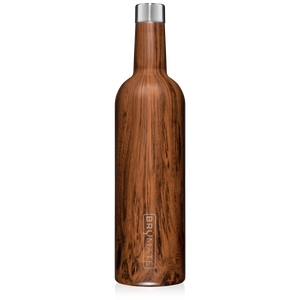 WINESULATOR™ 25oz Wine Canteen | Walnut