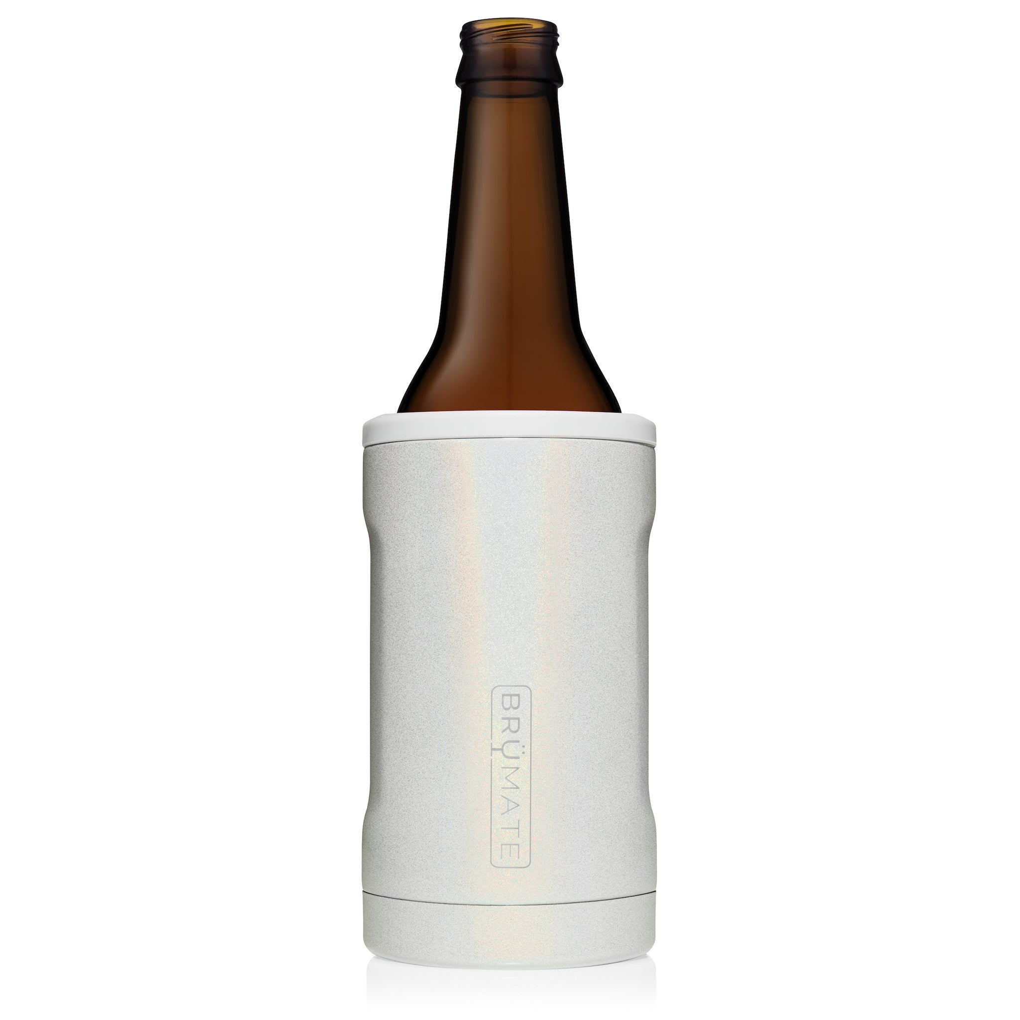 Hopsulator BOTT'L | Glitter White (12oz bottles)