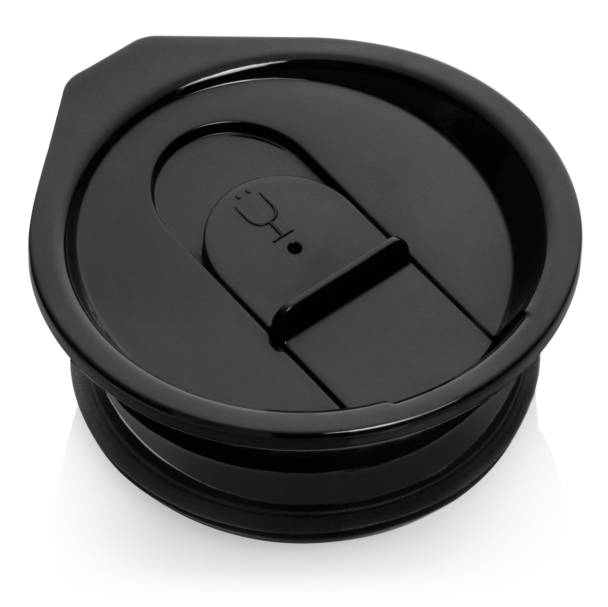 Hopsulator Slim Tumbler Lids (Clear, Black and Purple)