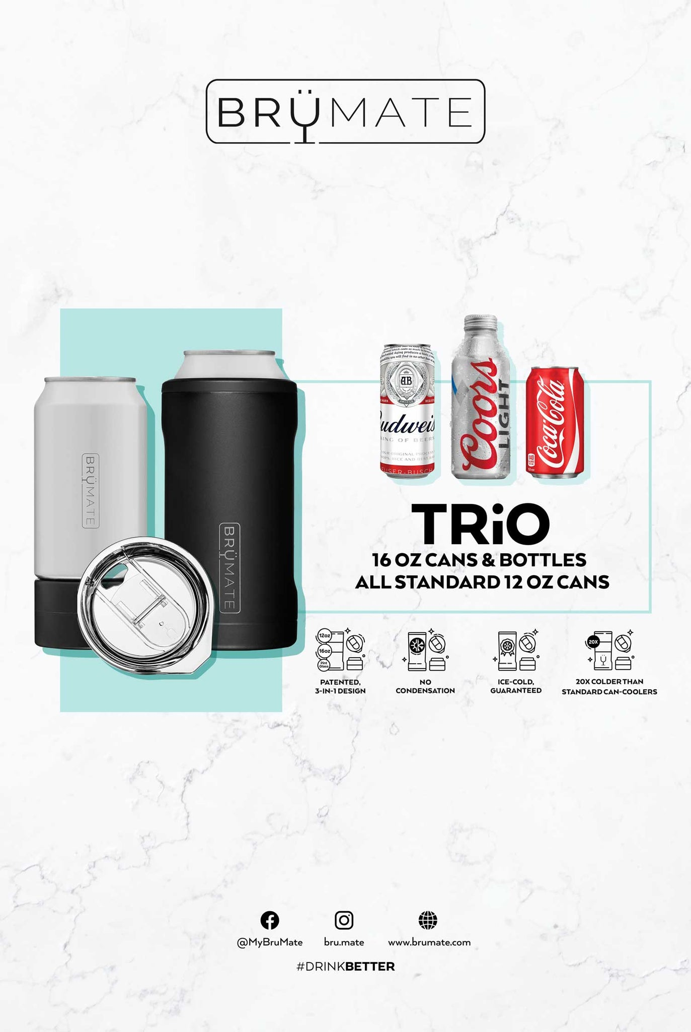 HOPSULATOR TRíO 3-in-1 | Pineapple (16oz/12oz cans)