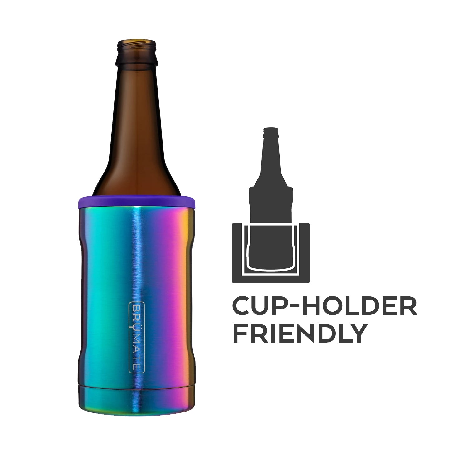 Hopsulator BOTT'L | Matte Navy (12oz bottles)
