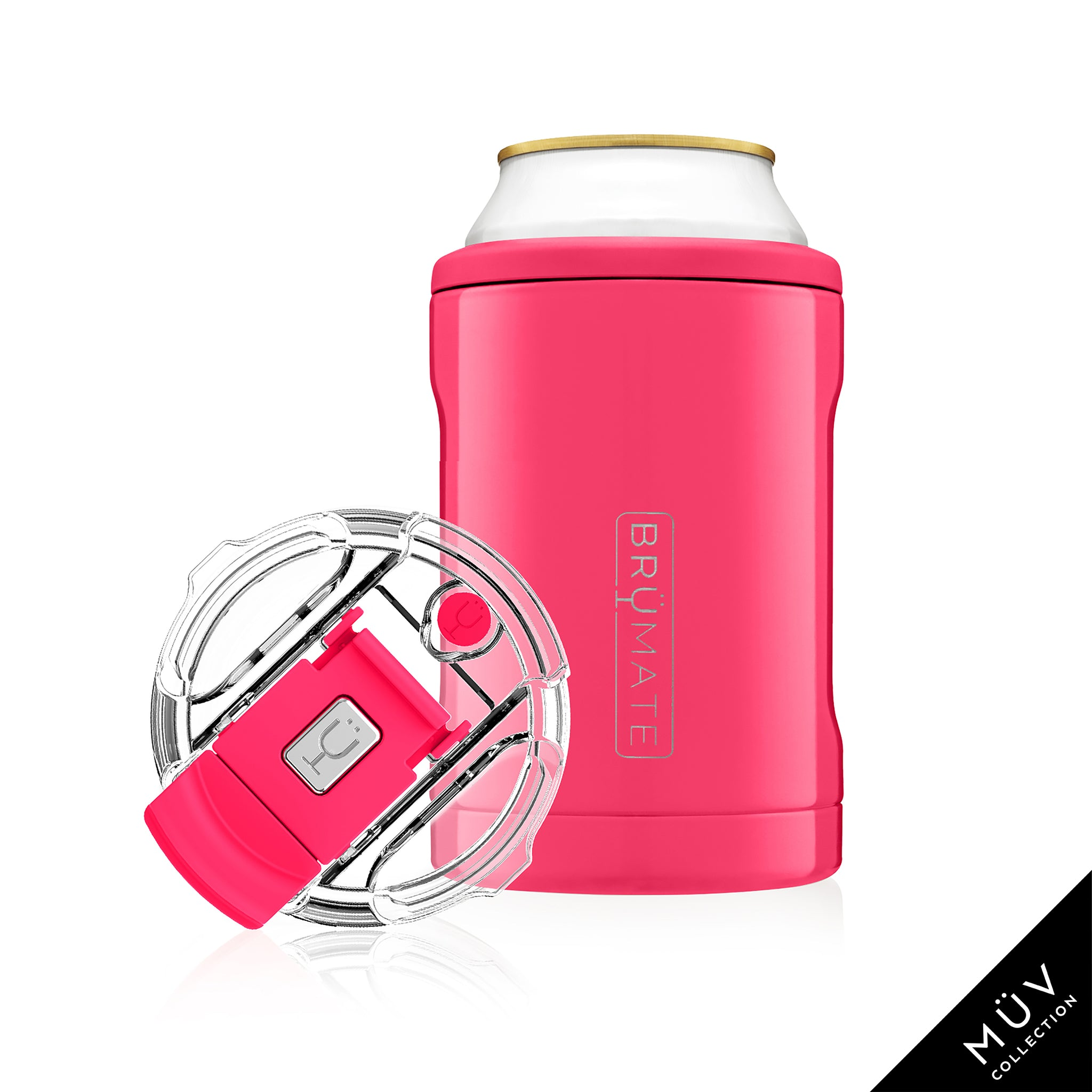 HOPSULATOR DUO 2-in-1 | Neon Pink (12oz cans/tumbler)