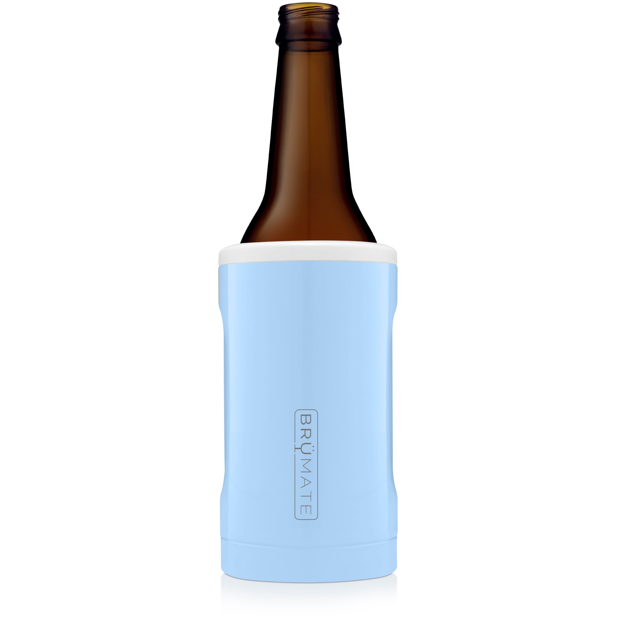 Hopsulator BOTT'L | Baby Blue & White (12oz bottles)